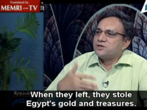 Egyptian Academic: Jews Must Return 'Treasures' Stolen during Biblical Exodus to Egypt
