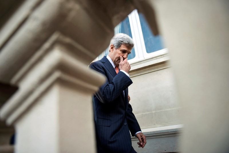 Kerry Says He Refuses to be Drawn into 'Back and Forth' with Iran
