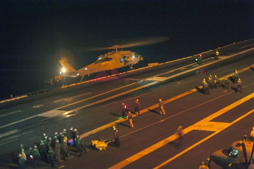 Rescuers End Ocean Search for Navy Fighter Pilot