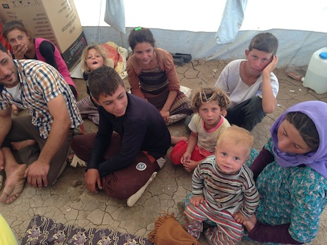 Iraq: ISIS Using Yazidis as Human Shields Against U.S. Airstrikes