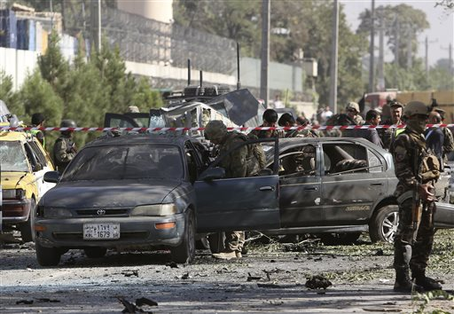 Afghan Suicide Bomber Kills 3 Foreign Troops