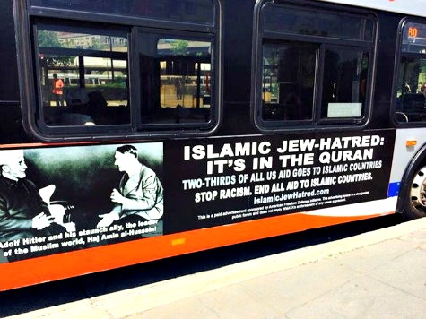 NY DAILY NEWS: Shocking Anti-Jihad Ad Campaign Coming to Buses, Subways