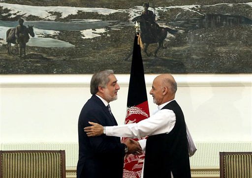 Afghan Election Commission Names Ghani New President