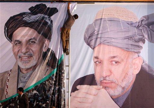 Afghanistan's Karzai Takes One Last Swipe at US