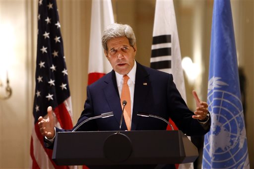 Kerry Calls for North Korea to Shut 'Evil' Prison Camps