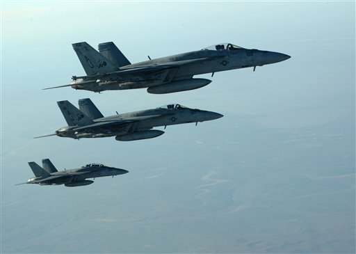 US-Led Strikes Hit ISIS-Held Oil Sites in Syria