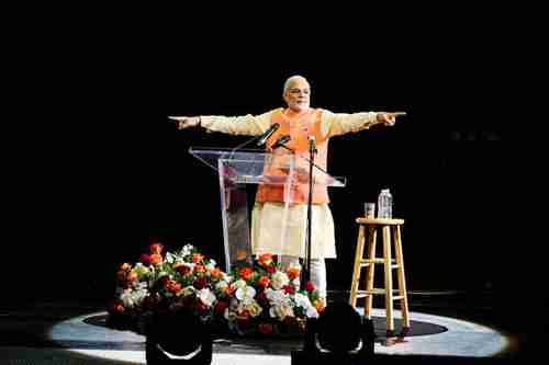 World View: India's Rock Star PM Narendra Modi Draws Mobs at Madison Square Garden
