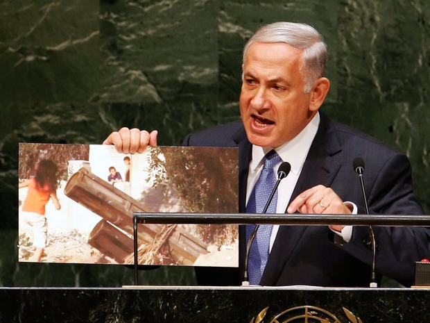 Bibi to UN: A Nuclear Iran Is Like ISIS with The Bomb
