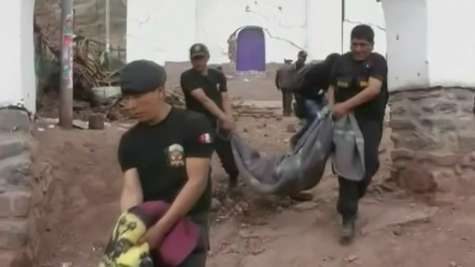 Peru Begins Search for Survivors after 4.9-M Earthquake