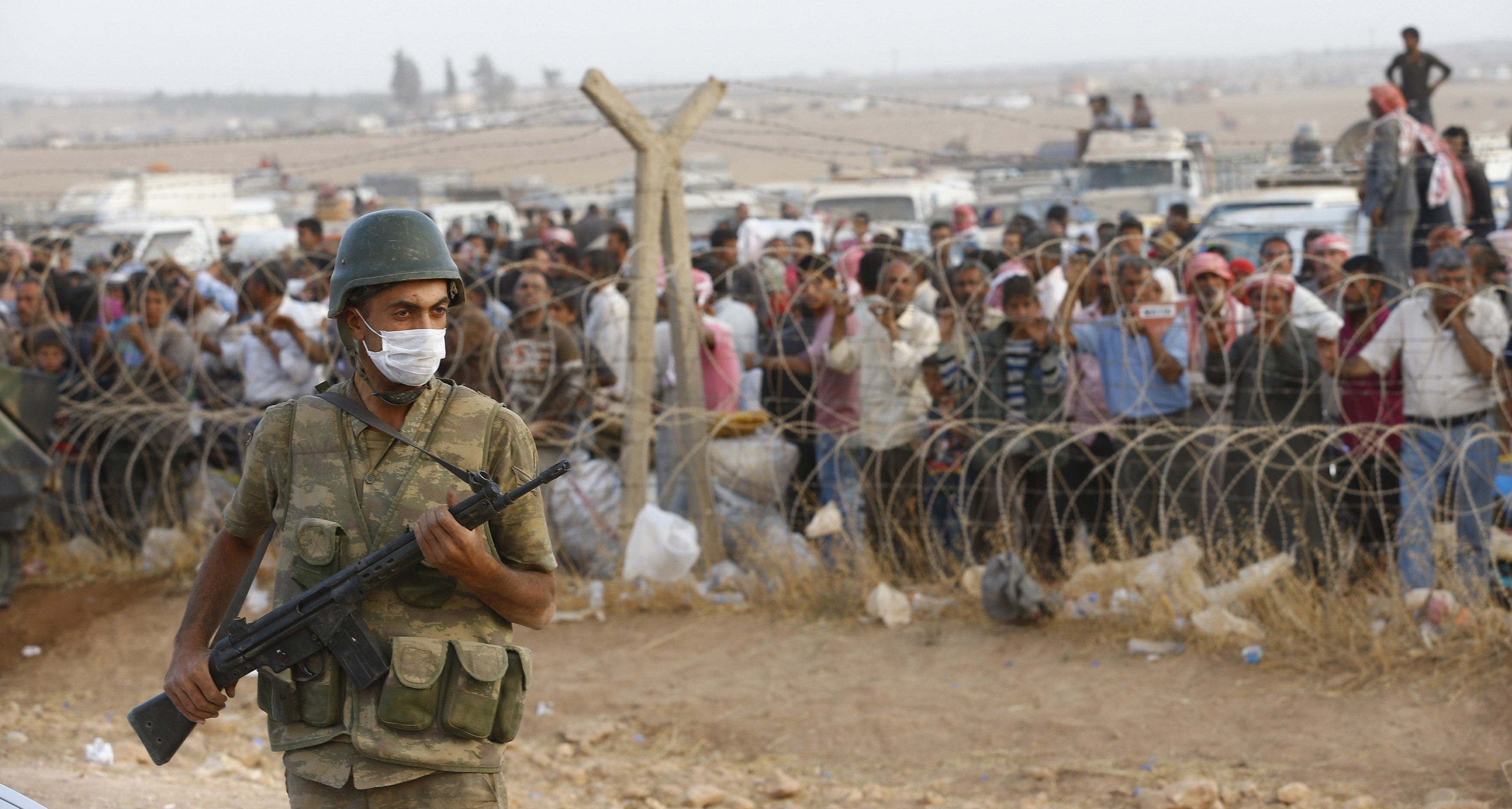 Erdogan Calls for Ground Operation as Kobane is 'About to Fall'