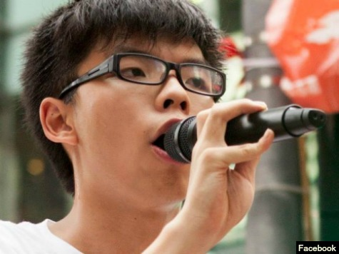 17-Year-Old Protest Veteran Joshua Wong Is Face of Hong Kong Protests
