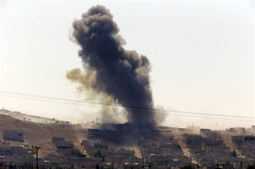 US-Led Airstrikes Produce Few Gains Against ISIS