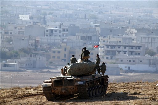 Airstrikes Against ISIS Ramp up in Kobani
