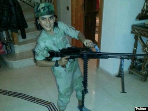 ISIS Fans Share Photos of Ten-Year-Old 'Cub of Baghdadi' Killed Fighting in Syria