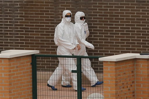 WHO: Spain's Ebola Case Won't be Last in Europe