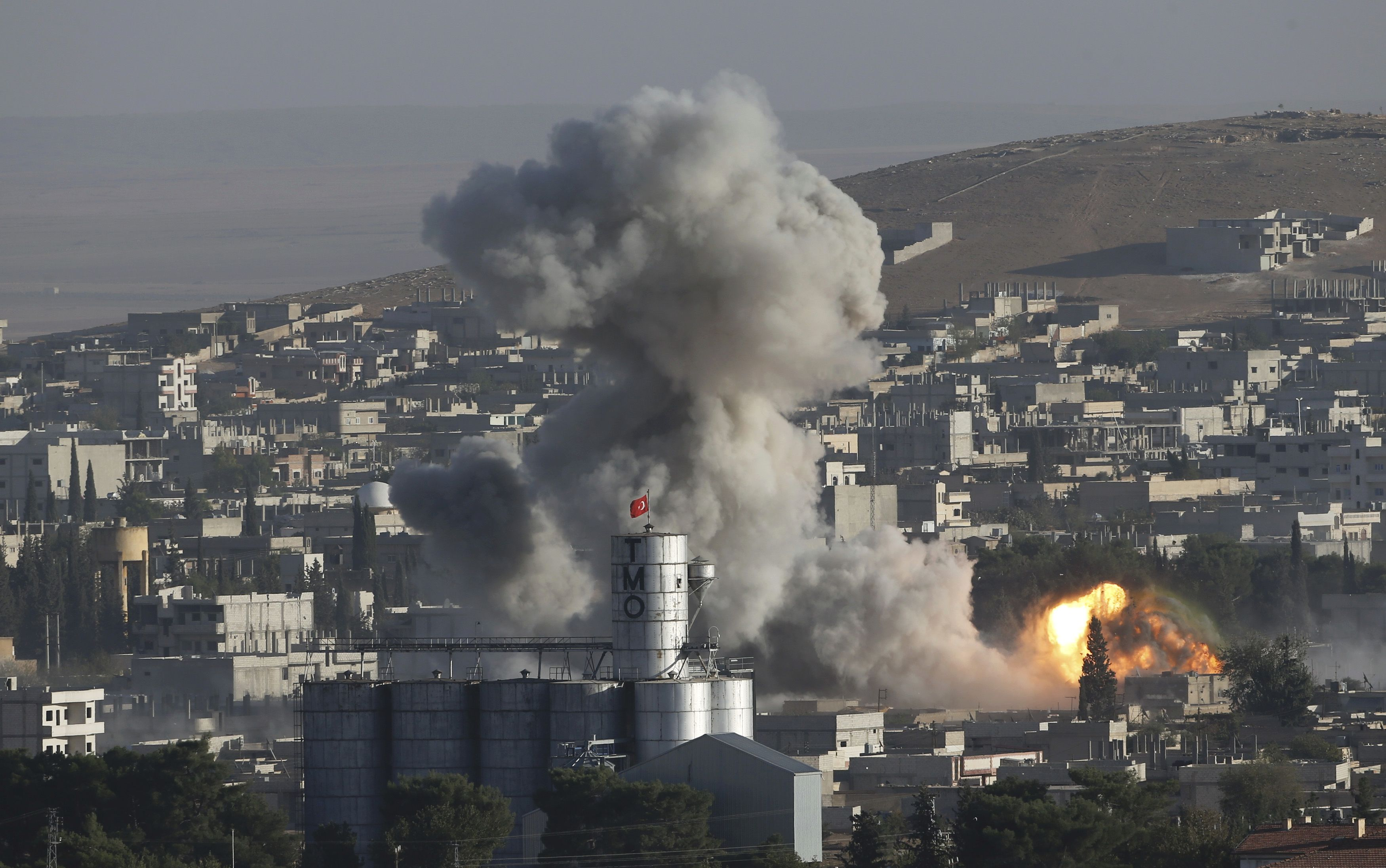 U.N. Says Thousands Likely to be Massacred if Jihadists Take Kobani