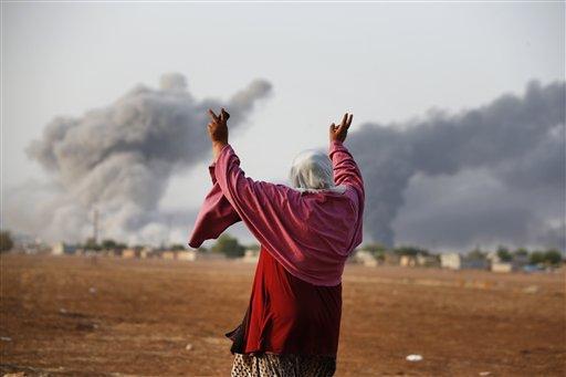 Fierce Fighting Resumes in Syrian Kurdish Town of Kobani