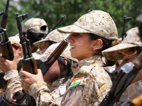Female Kurdish Fighter Mayssa Abdo Leads Battle against ISIS in Kobane