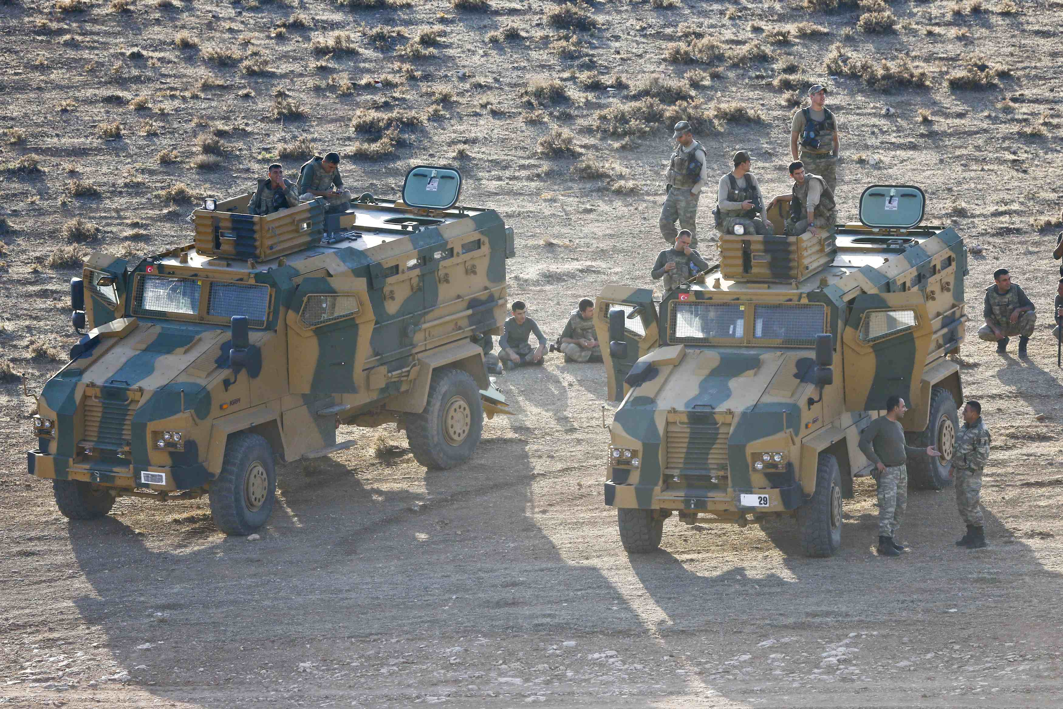 Ramped up Air Strikes Stall Islamic State Advance on Kobani