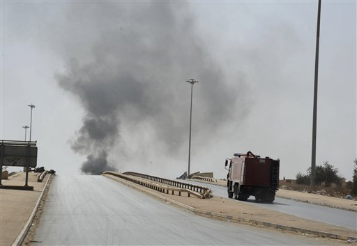 Egypt Warplanes Hit Libya Militias, Officials Say