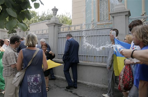 Ukraine Politics Turns Trashy as Mood Sours