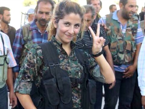 Kurdish Female Soldier Gains Internet Fame for Allegedly Killing More than 100 ISIS Jihadis