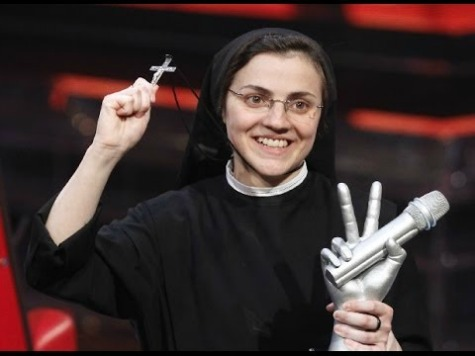 'Italian Idol'-Winning Nun Baptizes Madonna's 'Like a Virgin'