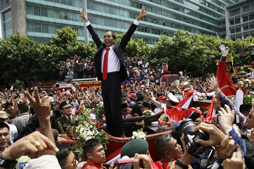 Indonesia's New President Causes a Buzz by Flying Economy Class