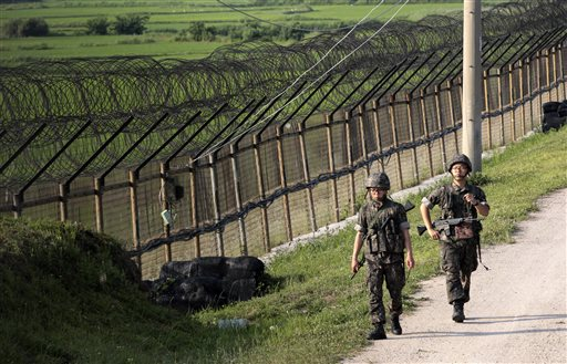 North and South Korea Exchange Gunfire Along Border