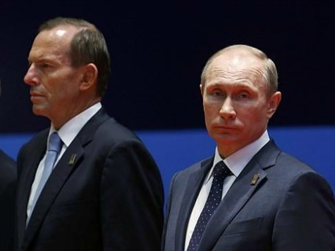 Poll: 3/5 of Australians Support PM Abbott's Plan to 'Shirt-Front' Putin on MH17