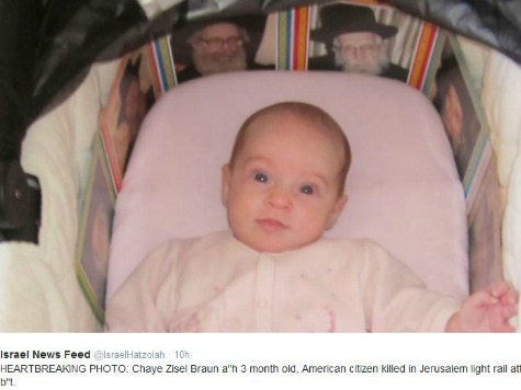 Reports: Infant Murdered by Hamas Militant in Israel was an American