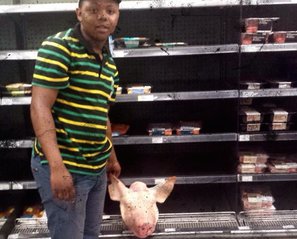 Anti-Israel Activists Place Pig's Head in Kosher Meat Section