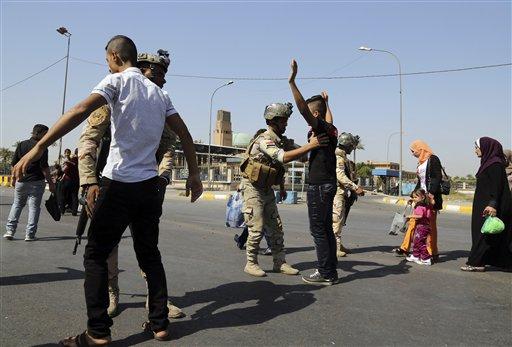 Iraqi Officials Say ISIS Jihadists Used Chlorine Gas