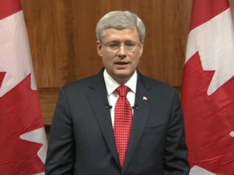 Canadian Prime Minister Stephen Harper Tells Putin: 'Get Out of Ukraine'