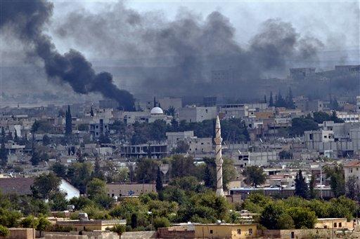Syria Activists Say Kobani Death Toll Passes 800
