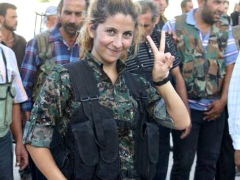 Report: ISIS Captures, Beheads Kurdish Female Fighter 'Rehana' in Kobane