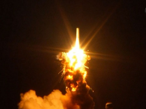 Russia Launches Supply Rocket After Antares Crashes in Virginia