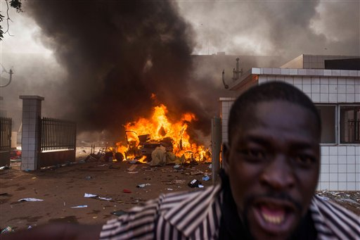 Protesters Topple Burkina Faso Government