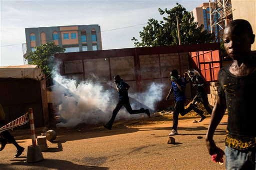 Protesters Gather Again in Burkina Faso