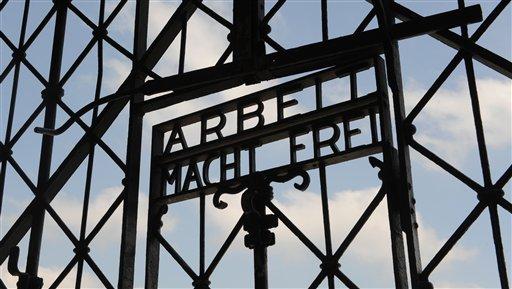 Historic 'Arbeit Macht Frei' Gate at Nazi Concentration Camp Stolen