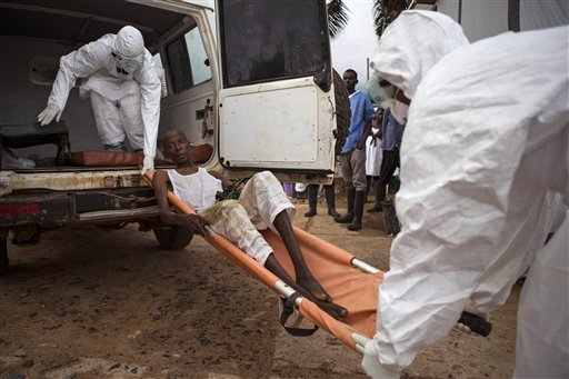 Thousands Break Ebola Quarantine to Find Food