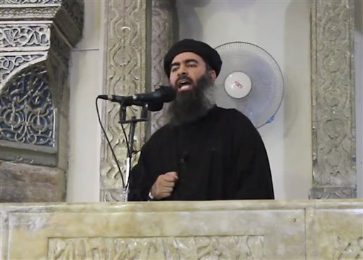 Iraqi Officials Say ISIS Leader Wounded in Airstrike