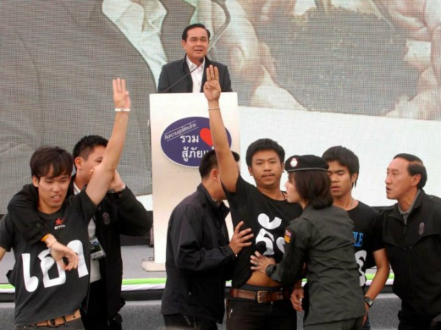 Thai Students Arrested for Flashing Hunger Games Salute at Prime Minister