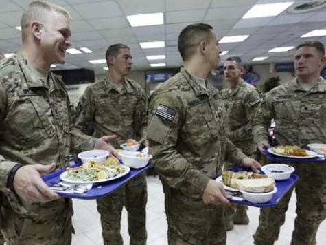 More Than 80,000 Pounds of Turkey Flown to US Troops Abroad