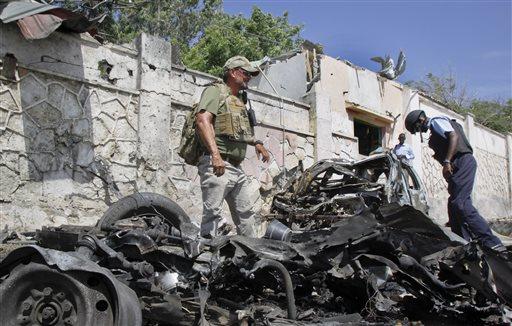 3 Dead as Bomb Blast Hits UN Convoy in Mogadishu, Somalia