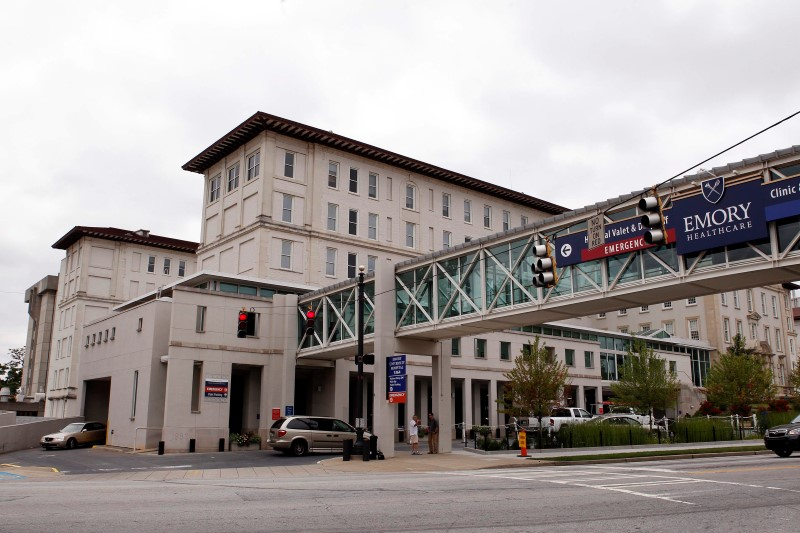 American Arrives at Atlanta Hospital from West Africa for Ebola Testing