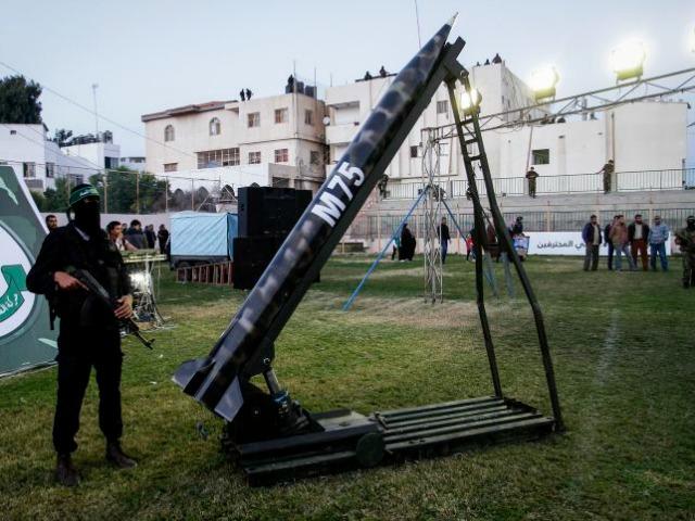 Hamas Ramping Up Rocket Manufacturing as Israel Readies New Defense Shield