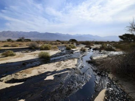 Major Oil Pipeline Spill Hits Israeli Desert