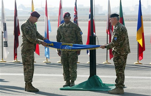 US, NATO End Afghan Combat Command After 13 Years