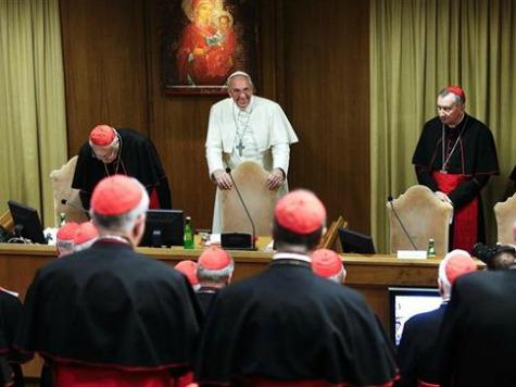 No Talk of Gay Marriage at Synod, Pope Francis Declares